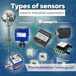 Types of Sensors Used in Industrial Automation | Industrial Automation