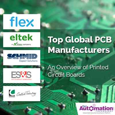 Top Global Pcb Manufacturers An Overview Of Printed Circuit Boards Plant Automation Technology