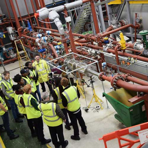 Transvac continues to inspire engineers of the future with annual University student site visit