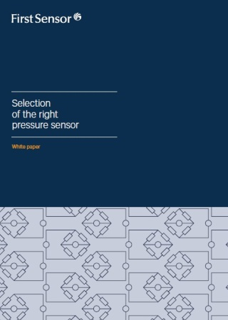 Selection of the right pressure sensor