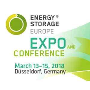 Energy Storage Europe 2018