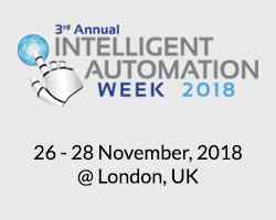 3rd Annual Intelligent Automation Week 2018
