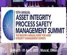 15th Annual Asset Integrity Process Safety Management Summit 2020