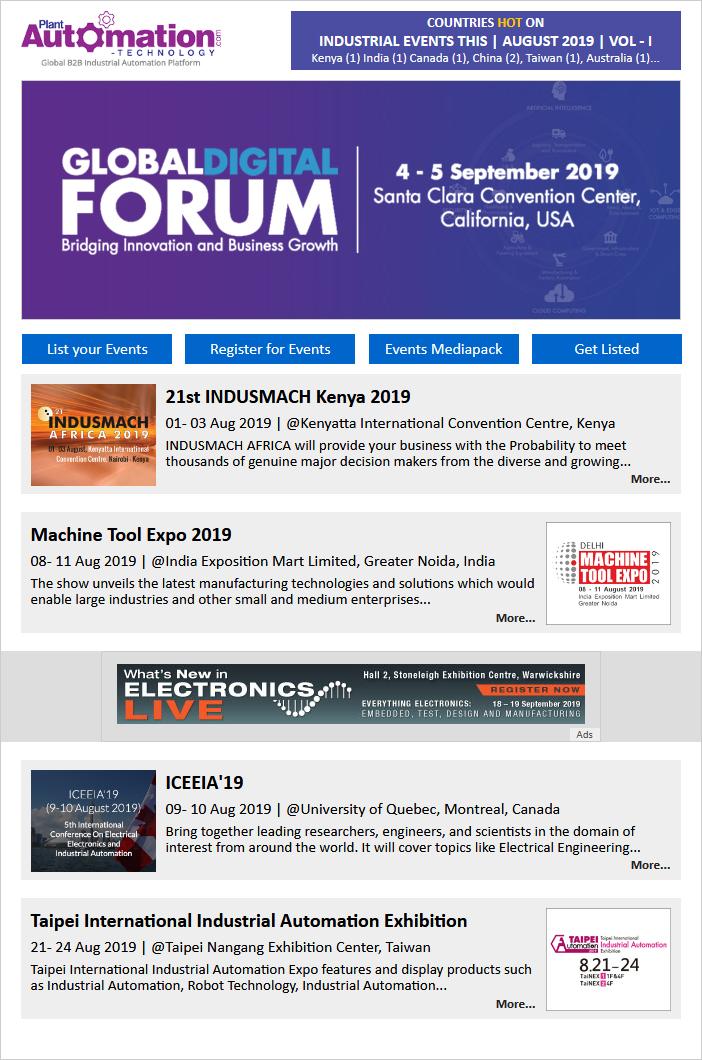 Aug-19 Event Newsletter Vol-1
