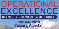 2019 Operational Excellence in Energy, Chemicals and Resources