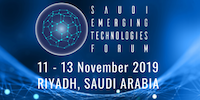 Saudi Emerging Technology Forum 2019