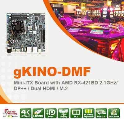 IEI Launches the New gKINO-DMF Mini ITX Skylake Motherboard
