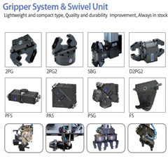 Gripper and Swivel