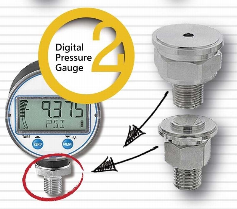 Digital Pressure Gauges - Turned Parts