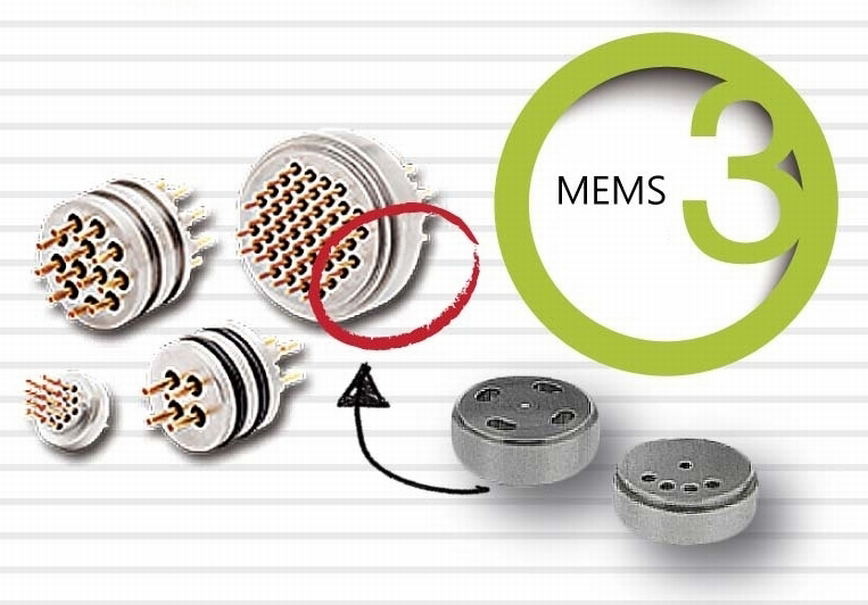 Turned parts for MEMS Sensors