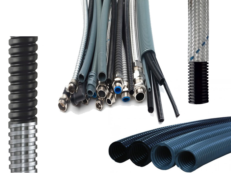 TACFLEX polyamide & metal spiral pipe & fittings
