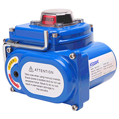 Scotch yoke electric actuators
