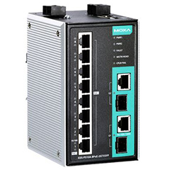 Industrial Managed Poe Switches eds-p510a-8poe