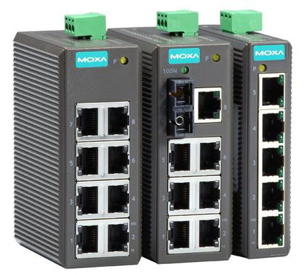 Unmanaged Ethernet Switches EDS-205/208