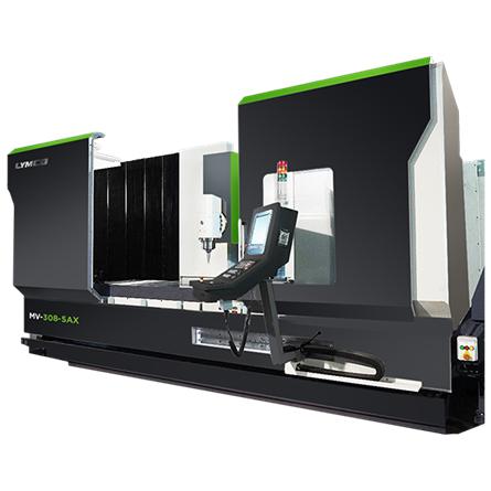 5 Axis CNC Machining Center - MV-5AX