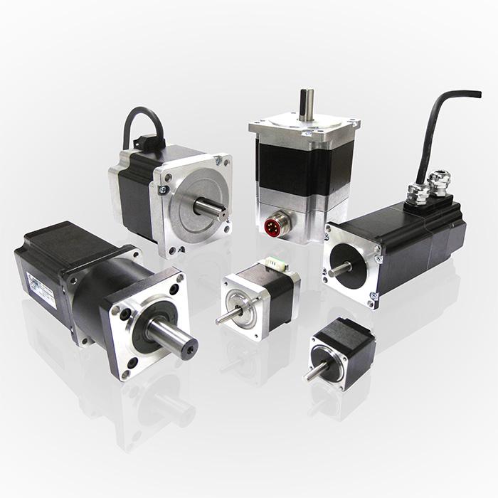 High Efficiency Stepper Motors