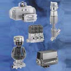 Automatic valves and actuators