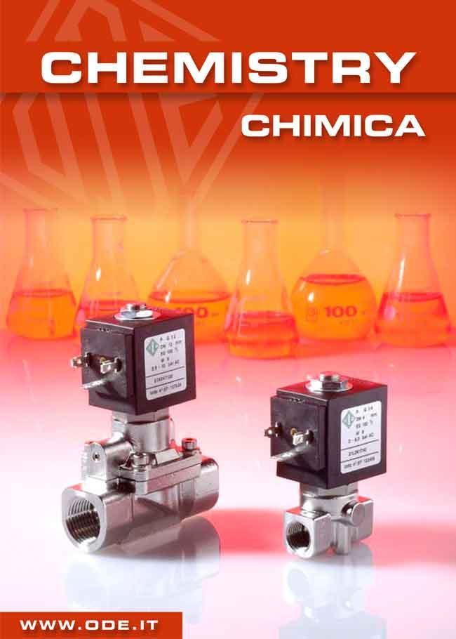 Solenoid Valves for chemistry