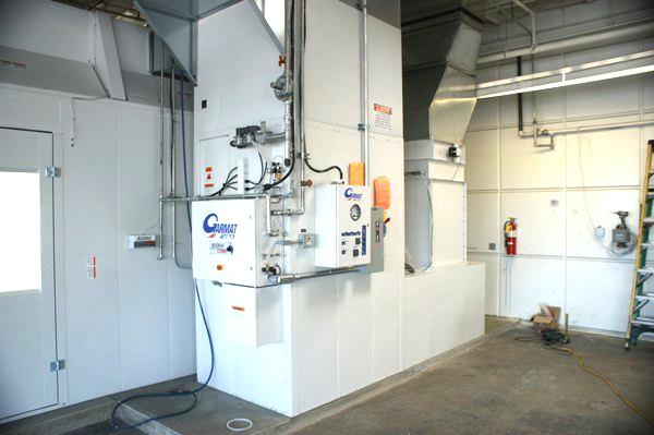 Collision Repair Spray Booths
