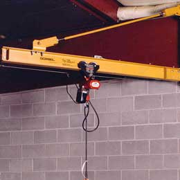 Wall Bracket Performance Jib Cranes