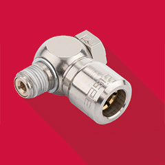 Push-in fittings for compressed air - Eisele BASICLINE