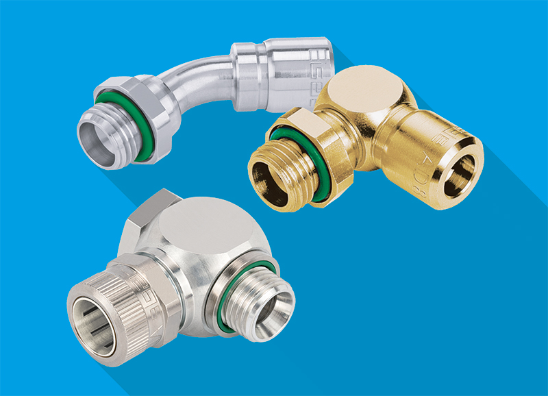 Push-In Fittings For Closed Coolant Applications - Eisele LIQUIDLINE