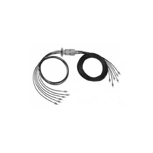 Fiber optic cable feedthrough