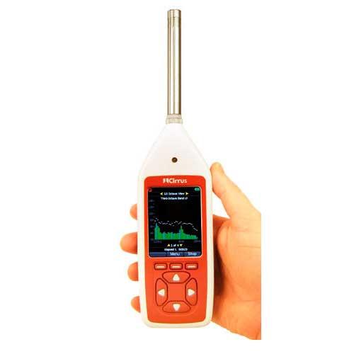 Integrating sound level meter Optimus CR:170 series