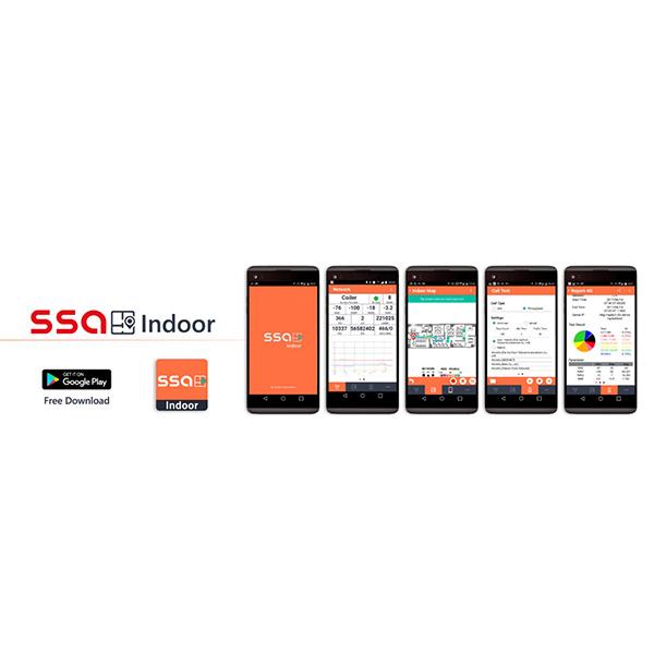 SSA Indoor - Signal Info Logged on Indoor Floor Plans