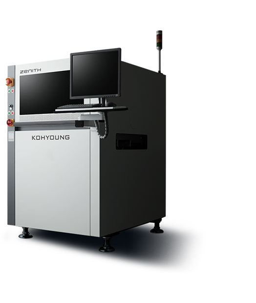 World's best selling full 3D automated optical inspection