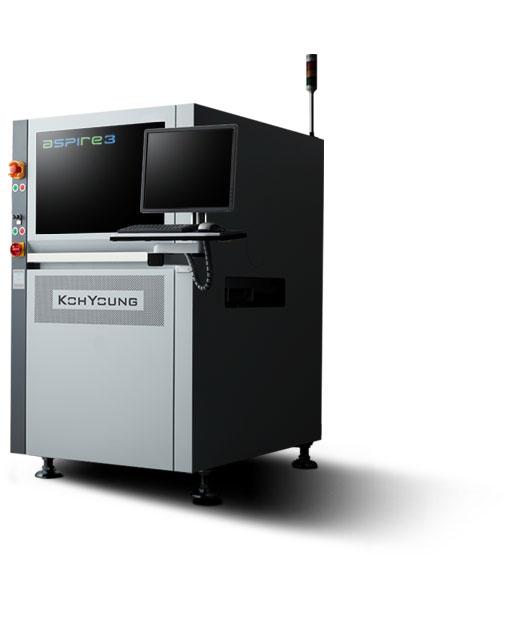 The world-best performance 3D solder paste inspection