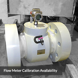 Flow Meter Calibration Availability