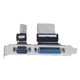 COM + Printer Cable w/ Bracket 59380502000E