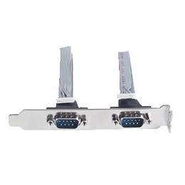 COM Port x 2 w/ Bracket 59312260010E