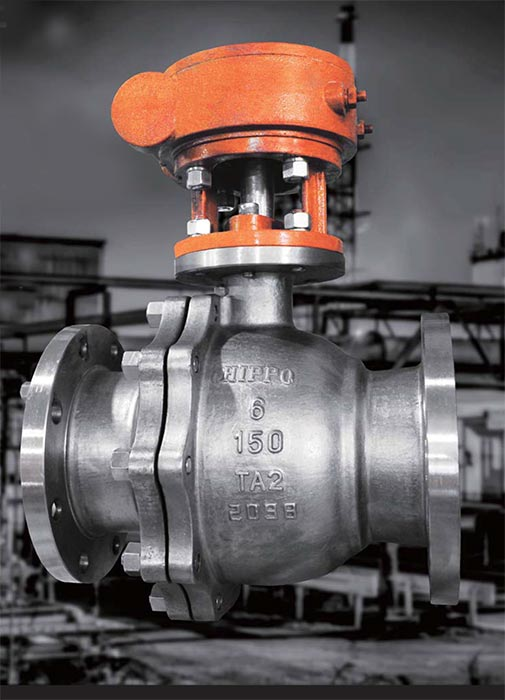 Industrial Titanium Ball Valves Industrial Valves