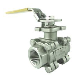3-PC Treaded End Ball Valve-DIN