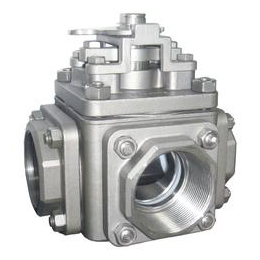 3 Way Threaded End Ball Valve