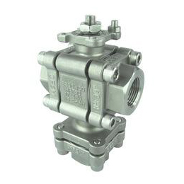 3-PC High Pressure Ball Valve - Bottom Entry