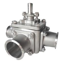 3 Way Sanitary Valve Tri-Clamp Series