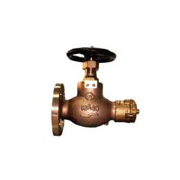 Hose globe valves and angle valves