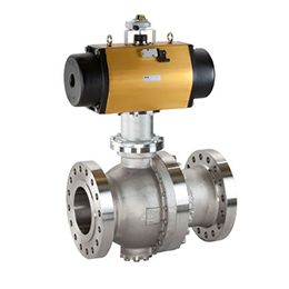 series ars pneumatic actuator for ball valves