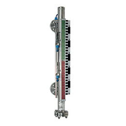 able magnetic level gauges