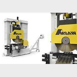 v-series billet saw-carbide vertical saw