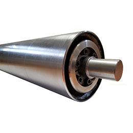 belt conveyor steel roller drums-pulleys