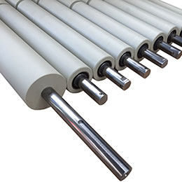 hdpe-pp conveyor rollers-drums