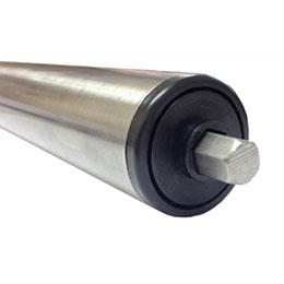 sspr stainless rollers-medium duty-under belt