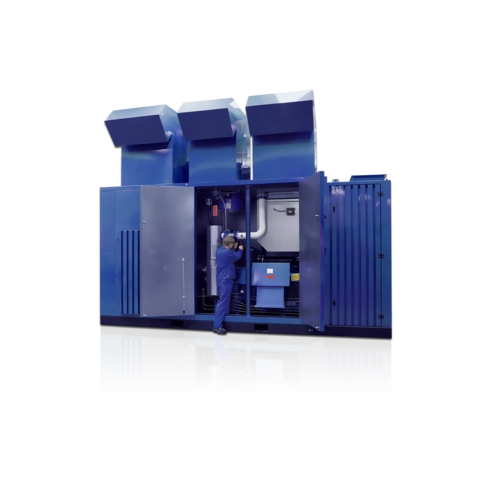 OIL-FREE MULTI-STAGE SCREW COMPRESSOR UNITS