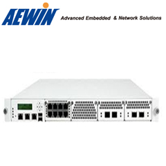 Industrial 1U server chassis