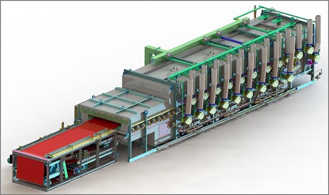 Mesh|Belt Conveyor|for industrial