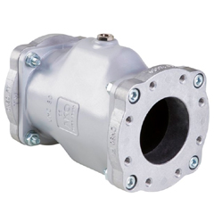 AKO Pinch Valves with Semi-silo Trailer Connection